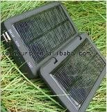 foldable mini solar power charger for cell phone