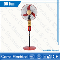 Good quality and safe operation battery operated pedestal 12V recharge fan