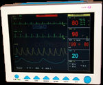 Multi-parameter Hand-held patient monitor