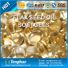 Private Label Skin Whitening Bulk Flax Seed Oil Capsules
