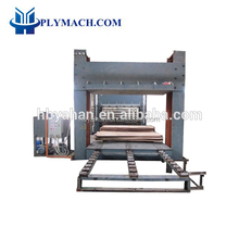 500T Prepress Hydraulic cold press machine for door with chain system