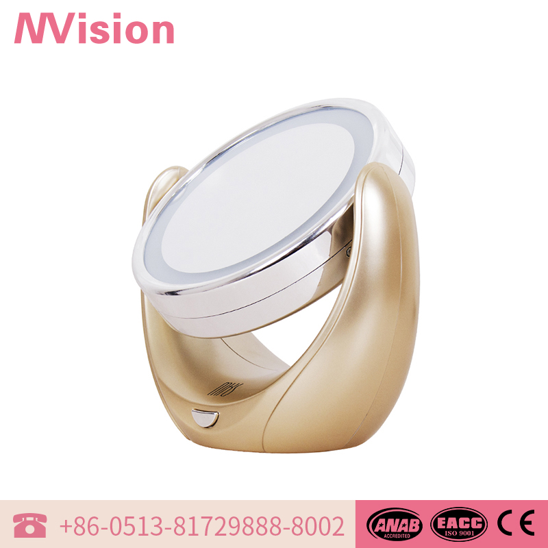New brand 2017 fashionable double sides novelty cosmetic mirror Sold On Alibaba