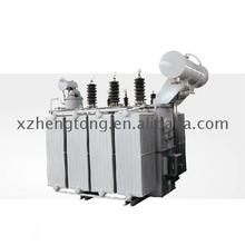 10000kva three phase double winding on load voltage regulating power transformer