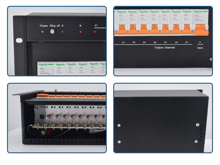 19inch Rack Mounting DC Power Distribution Unit