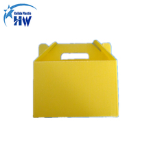 Pp corrugated plastic coroplast stackable box polypropylene correx white nucleus cabinet boxes