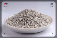 China supplier low thermal conductivity rough round mullite