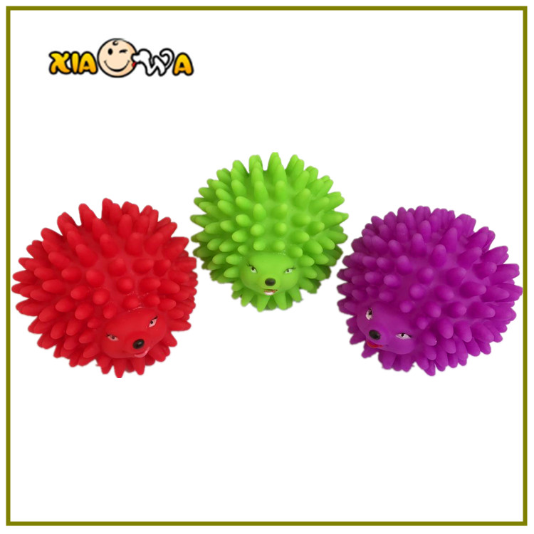 OEM ODM Custom Small Animal Hedgehog Shaped Dog Toys Squeakers Wholesale Free Samples