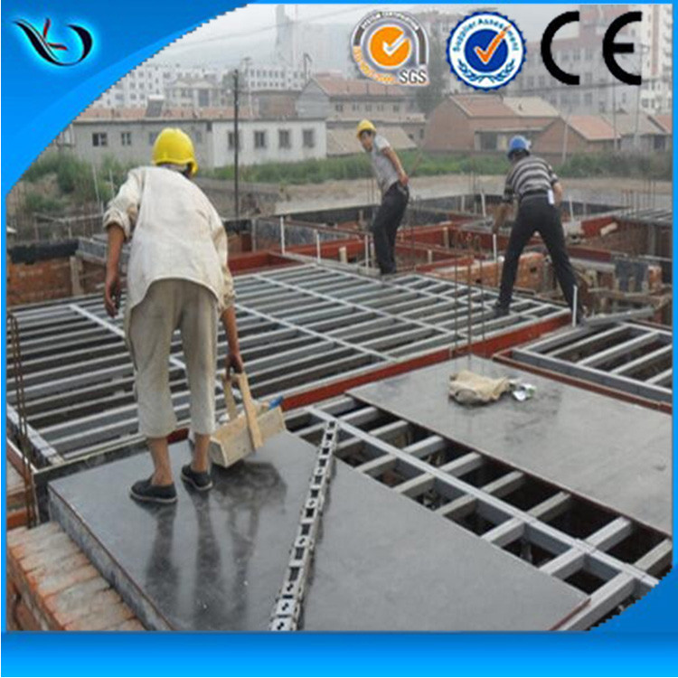 Building Construction Materials,Reusable Plastic Formwork,Rigid PVC Concrete Board