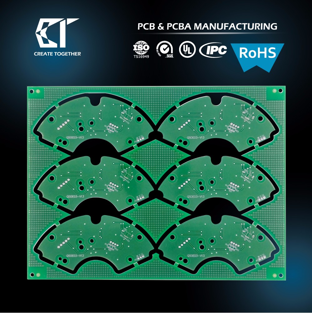 TAIWAN PCB Factory - OEM customized 94v-0 circuit board