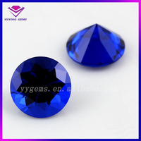 Factory Price Blue Gemstone Names of Round Shape 5MM Loose Spinel Stone