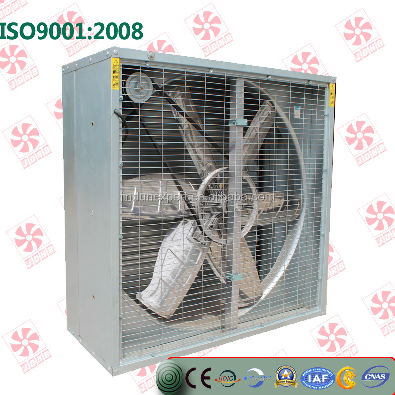 Greenhouse use window mounted motor power Exhaust box cooling Fan