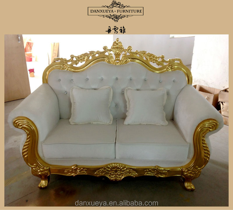 Happy Christmas White Gold Home Furniture French