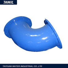 Pipe Accessories--Ductile Iron 90 Deg Double Flanged Bend,Stainless Steel Flange