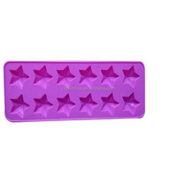 Star shape Silicone cookie mold / Silicone Cake cup/Silicone Cake Mould