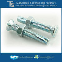 CSK Head Machine bolt and Hex Nut