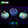 toxic free glow in the dark paint objects of pumpkins hearts