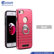 Hot 3D surface ring holder mobile phone case for iPhone 6s