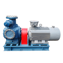 Twin Screw Pump Types Heated Jacket Asphalt Pump price