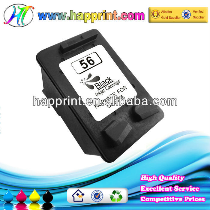 For HP 56 remanufactured ink cartridge C6656A