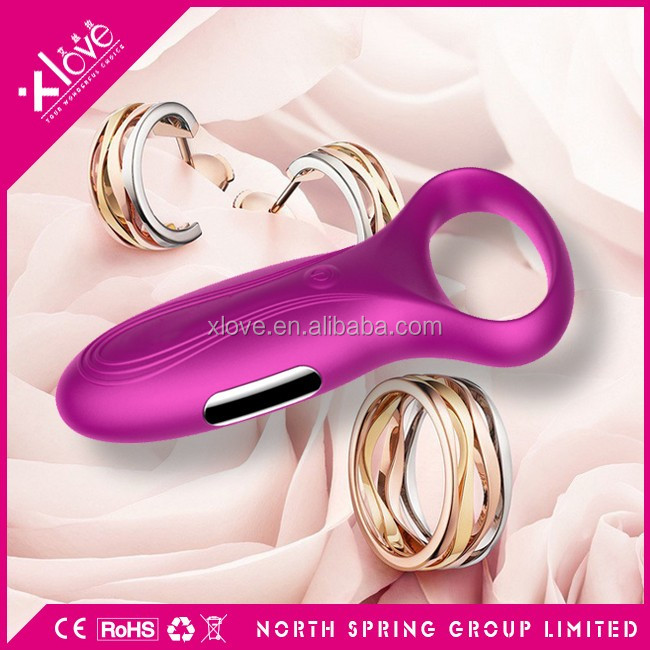 Penis Cock Erection Enhancer Adult Sex Product Vibration Cock Ring