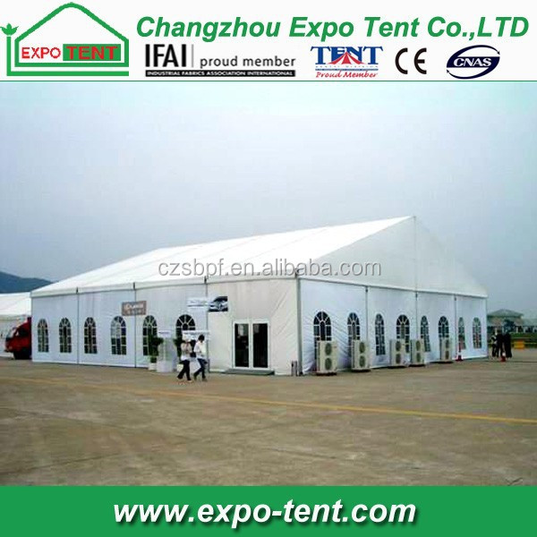 inflatable big exhibition wedding tent for hot sale