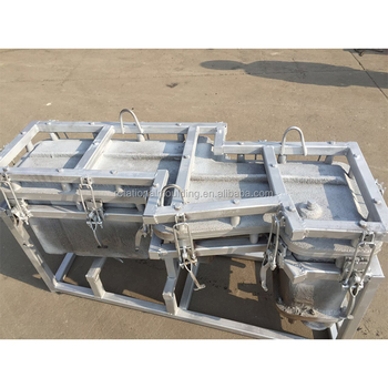 rotational molding mould for seafood storage canyon ice chest