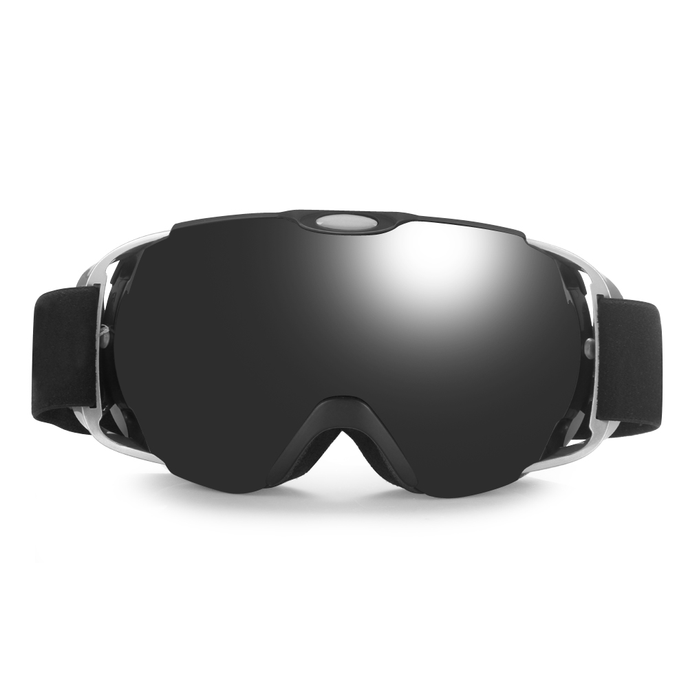 New 2017 Snow Skating Skiing Glasses Anti-fog Ski Eye Protector Sports Eyewear Glasses for Adults