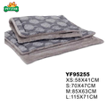 Comfortable Relax Orthopedic Grey cotton Dog Bed