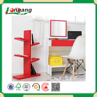 hot case Furniture Indoor Wood book shelf / bookcase