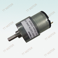 24v 37mm dc gear motor with reduction gearbox