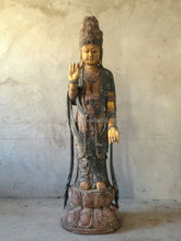 Hand made antique wooden carving buddha statue,hand carved wooden statues