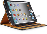 Leather Wallet Smart Flip Case Cover with Full Sleep Wake Compatibility for New iPad Air