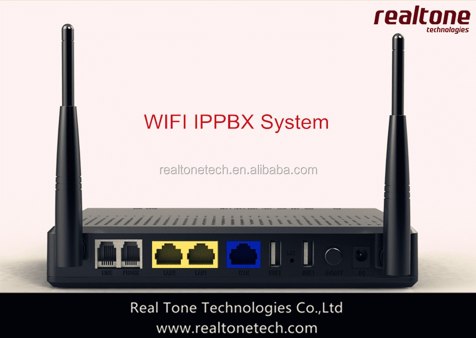 WIFI IPPBX with 3G router support 2 USB dongle 3G SIP IP PBX