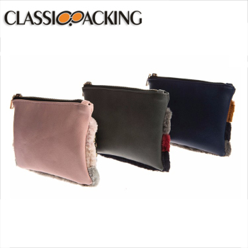 Fashion design PU leather waterproof promotional cosmetic bag