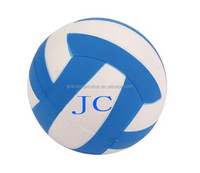 2015 Hot sale volley ball shape anti PU Stress Ball for promotion