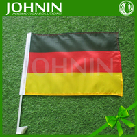 China Wholesaler Manufacture Cheapest Polyester German Car Flags