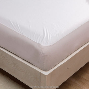 Quilted mattress pad cover 100% cotton/polyester customized mattress pad