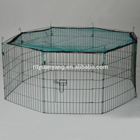 wholesale Cheap pet playpen 8 panel dog kennel