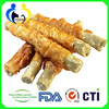 frozen dog food with OEM or ODM package Chicken Wrap 7.5Cm Flour Stick
