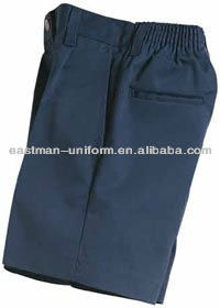 cheap mens half working pants uniform/customized polyester half cargo pants for men