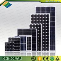 China price per watt mono and poly solar panels/ panel solar with high cost performance