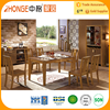 6602 cheap modern wooden dining table set