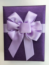 wholesale 100% Polyester satin ribbon bows for gift package