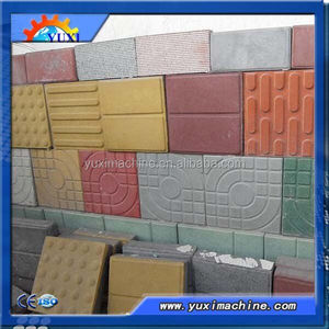 2016 sales Hot!Paving terrazzo cement wall tiles plant concrete tile making machine price