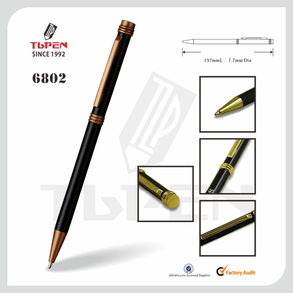 Cheap metal ballpoint Pen with customized logo for promotional