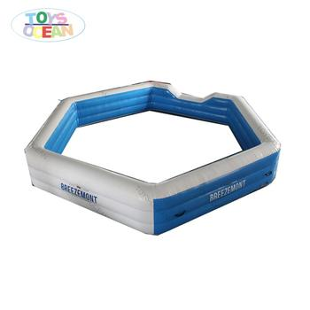 2016 inflatable skee ball game inflatable gaga ball pit game for adults