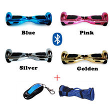Top quality ce approved two wheel no foldable 6.5/8/10 inch bluetooth gyroscope hoverboard with cheap price