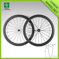 2016 cheap carbon wheels road, 50T 23 width chinese carbon road wheels Tubular