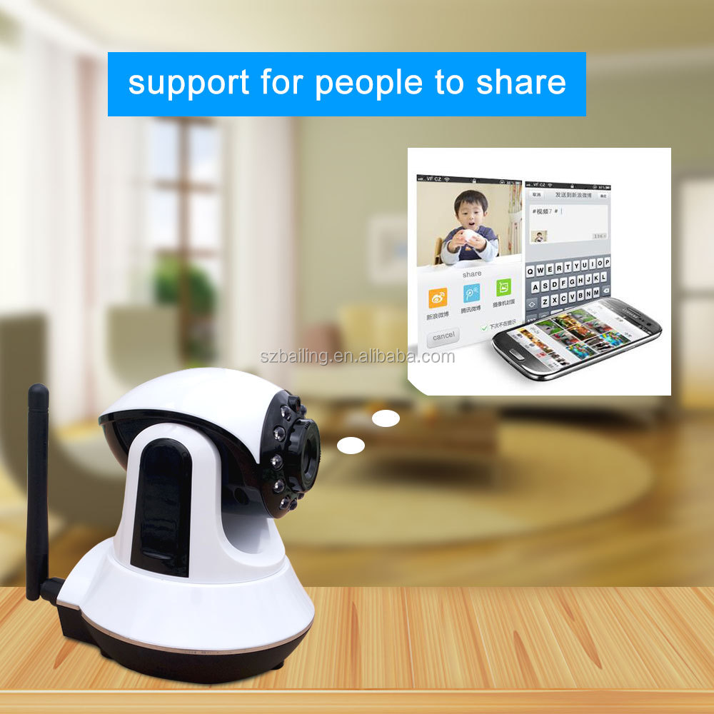 Hottest wifi ip camera <strong>security</strong> monitoring two-way Audio smart p2p ip camera