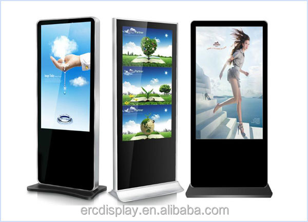 advertising equipment Touch Screen Hotel Lobby Kiosk digital signage monitor
